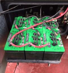 original battery bank 6volt golf cart batteries batterypete [ 768 x 1024 Pixel ]