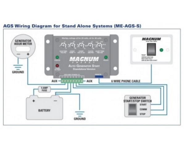 Westerbeke Wiring Diagrams Magnum Energy Auto Generator Start Network Me Ags S