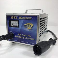 Club Cart Battery Wiring Diagram 1998 Honda Accord Pete Big Or Small Has Them All 229 99 197 90 48 Volt Car Golf Charger Dpi Gen Iv