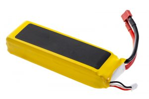 Types of Rechargeable Batteries - Picture of a Lithium Polymer battery