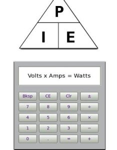 It   calculated by multiplying voltage amperage therefore the vac  amps equals watts also calculate ac to dc through inverter batterystuff rh