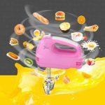 SHUUY Batteur à Main électrique Version Durable, mélangeur à Main Puissant et Facile Bouton Éjecter, Inclure Beaters et Crochets pétrisseurs