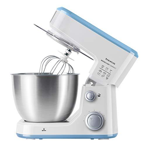 Taurus 913526000 Mixing Chef Compact Robot patissier, Plastique, Blanc