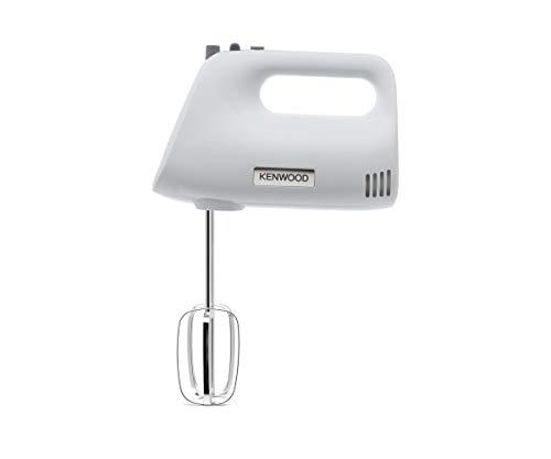 Kenwood Chefette – HMP30.A0WH – Blender – 450 W – 5 vitesses + turbo, fouets et crochets à pétrir – Blanc