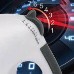 NBSXR -Mélangeur électrique à Main, mélangeur de Cuisine léger de 100 W, mélangeur Multifonctionnel à 7 Vitesses avec Bouton d'éjection Facile (2 batteurs, Crochets 2Dough)