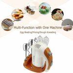 YFGQBCP 5 Vitesse Handheld pâte Mélangeur Fouet alimentaire Blender multifonctions Robot électrique Cuisine Mélangeur for le lait de cuisson