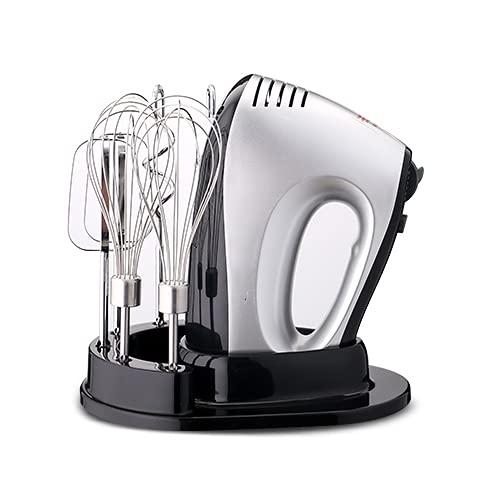 BMDHA Robot Pâtissier, Robot Multifonction, Moteur Electrique 300W, avec Crochet Pétrisseur, Fouet à Fil pour la Cuisson