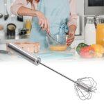 Mélangeur à main, facile à utiliser Facile à nettoyer Batteur à oeufs en acier inoxydable Haute fiabilité pour les restaurants pour la cuisine