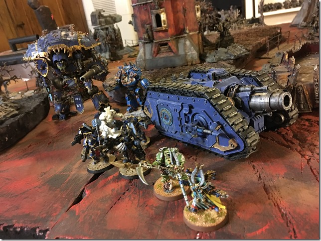 Thousand Sons vs Eldar