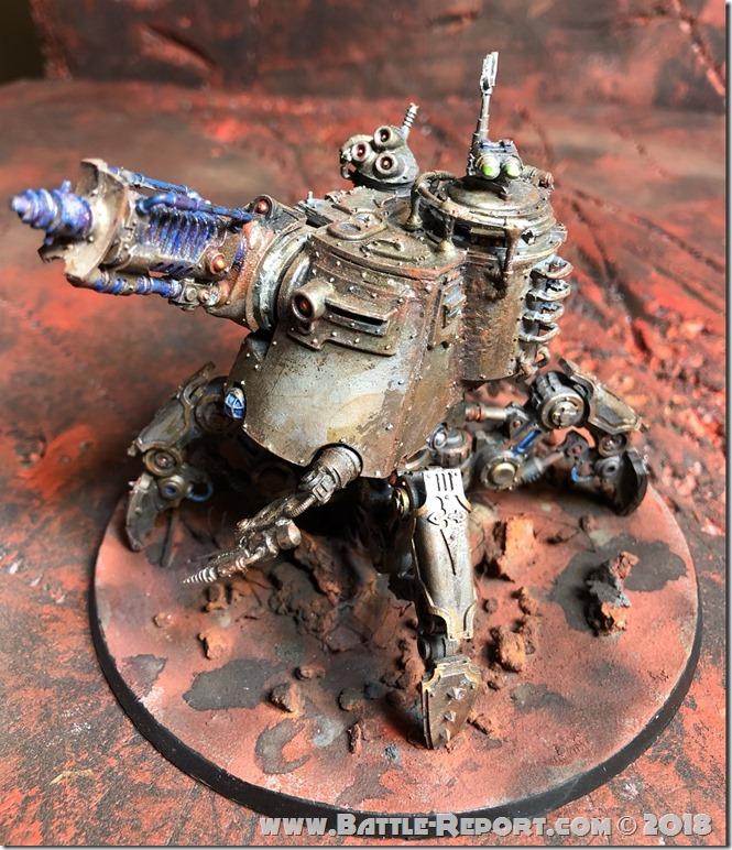 Adeptus Mechanicus Onager Dunecrawler by Nyghoma