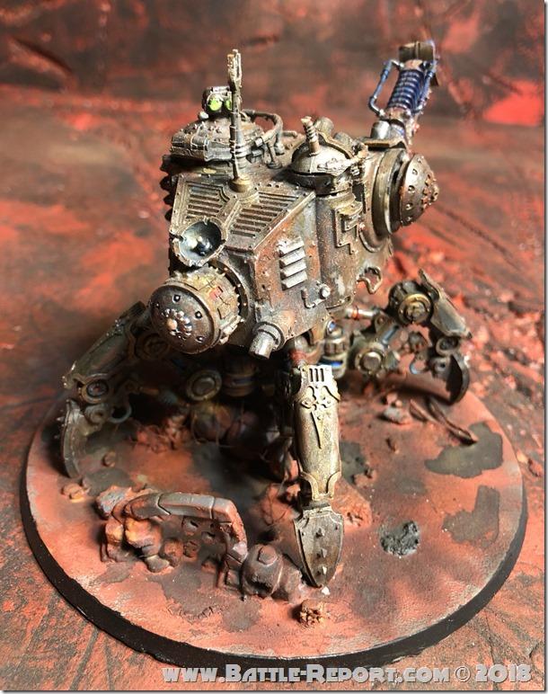 Adeptus Mechanicus Onager Dunecrawler  02