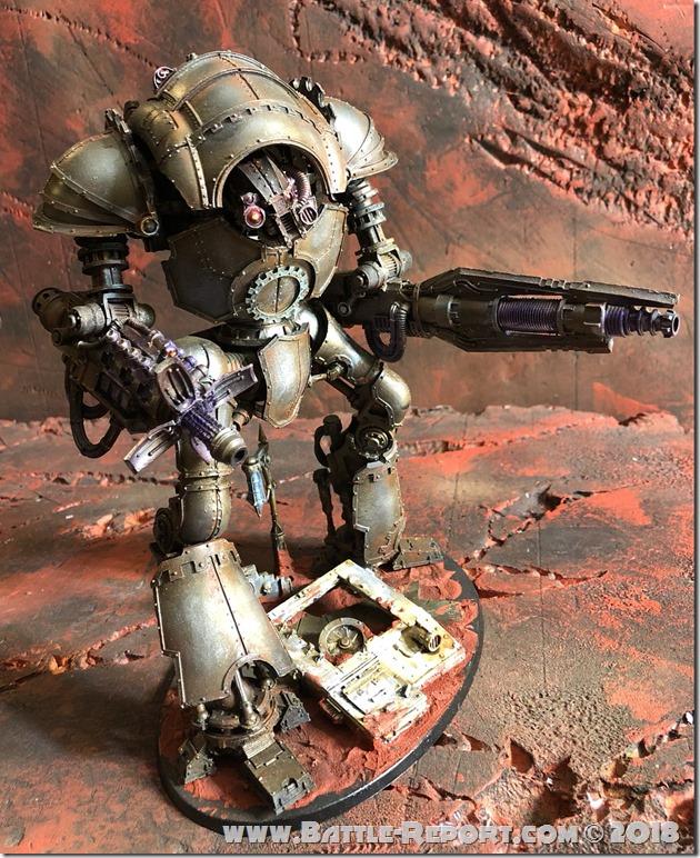 Mechanicum Cerastus Knight-Atrapos by Nyghoma