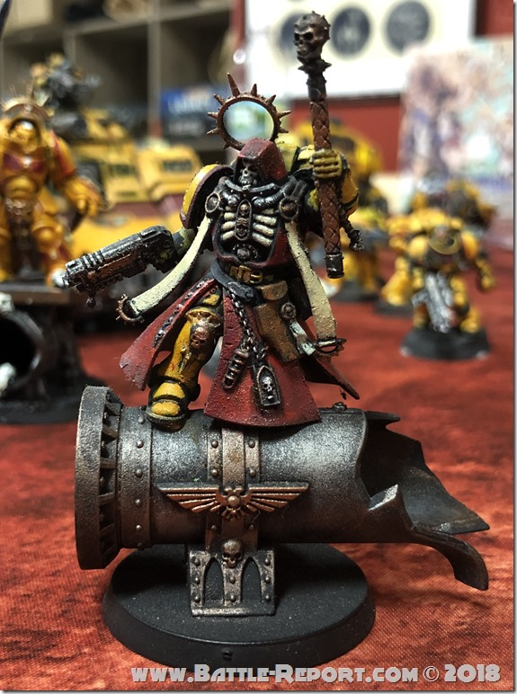 Imperial Fists Primaris Chaplain by David B