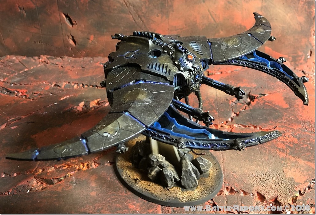 Necron Doom Scythe by Nyghoma (2)