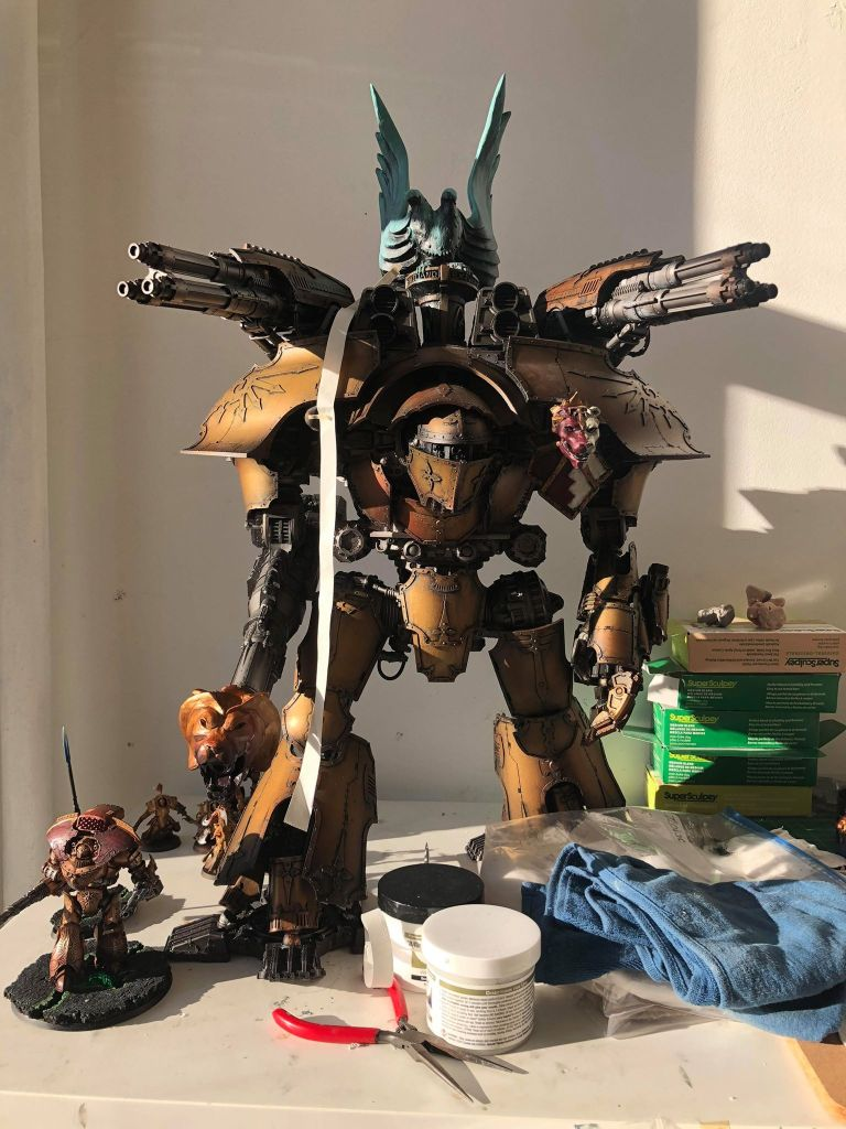 Emiliano Extormus Warlord Titan Build