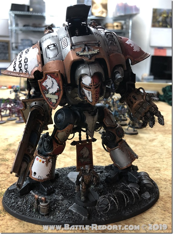 "Imperial Knight Preceptor Canis Rex ""The Chainbreaker"" by David B"