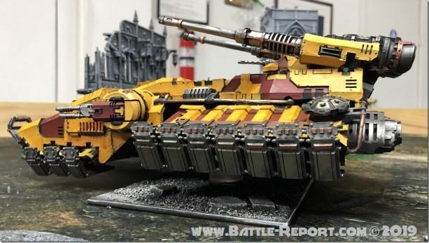 Imperial Fists Astraeus Super-heavy Tank (7)