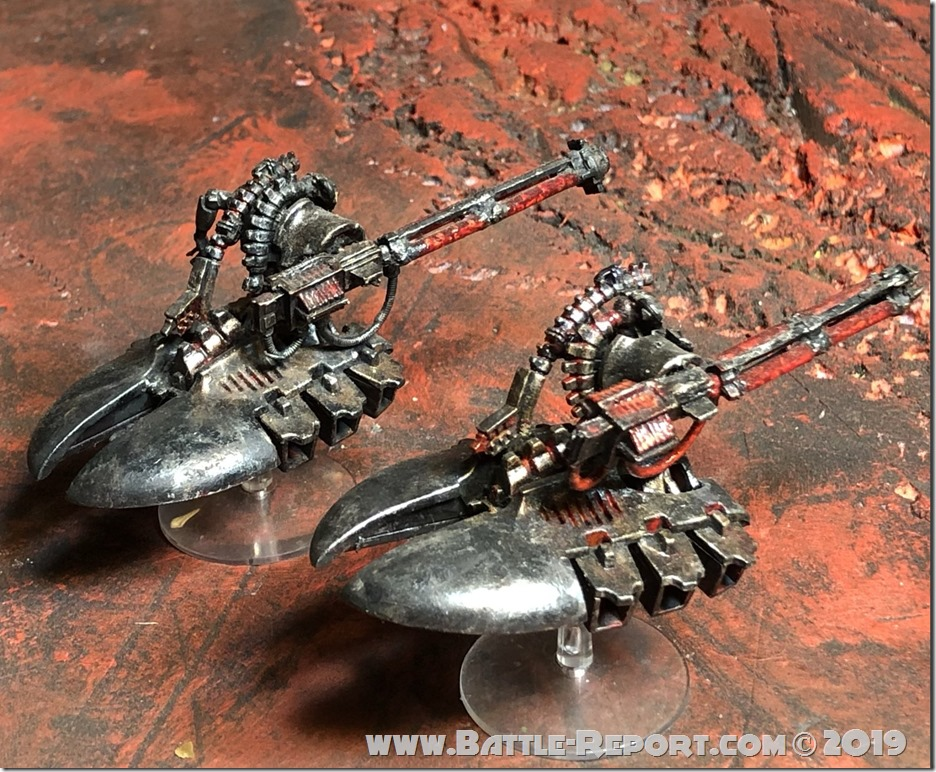 Necron Heavy Destroyers (3)