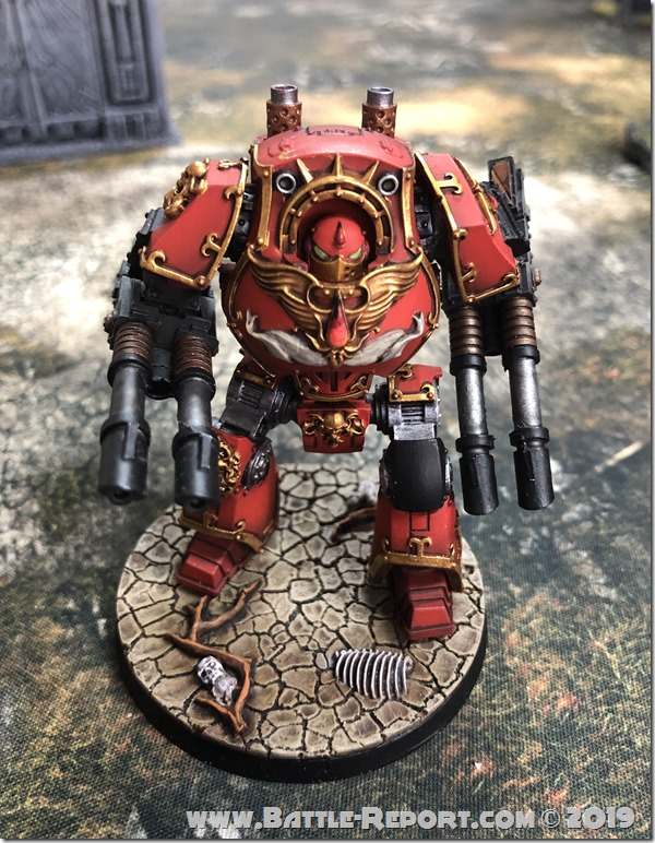 Blood Angels ContemptorDreadnought (10)
