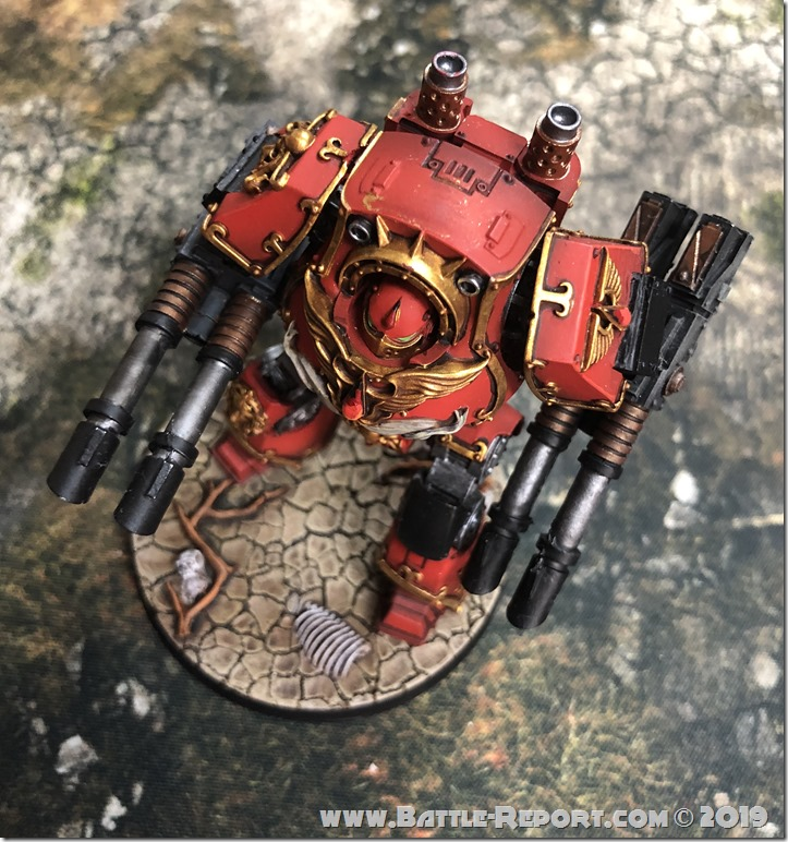 Blood Angels ContemptorDreadnought (11)