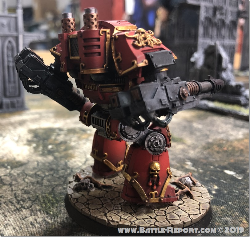 Blood Angels ContemptorDreadnought (6)