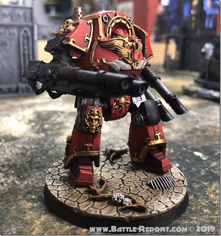 Blood Angels ContemptorDreadnought (8)