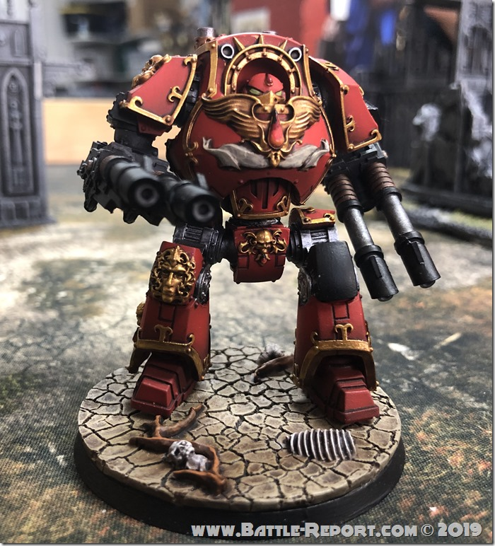 Blood Angels ContemptorDreadnought (9)
