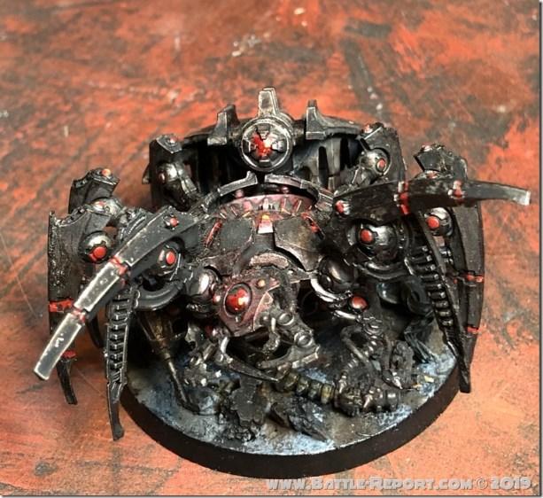 Necron Canoptek Spyder by Nyghoma (2)