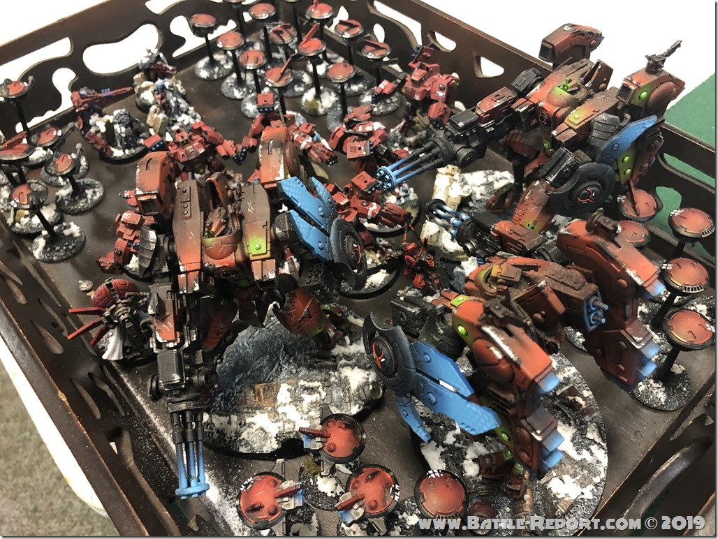 Armies of the 2019 BFS North East Team Championship – Part 5