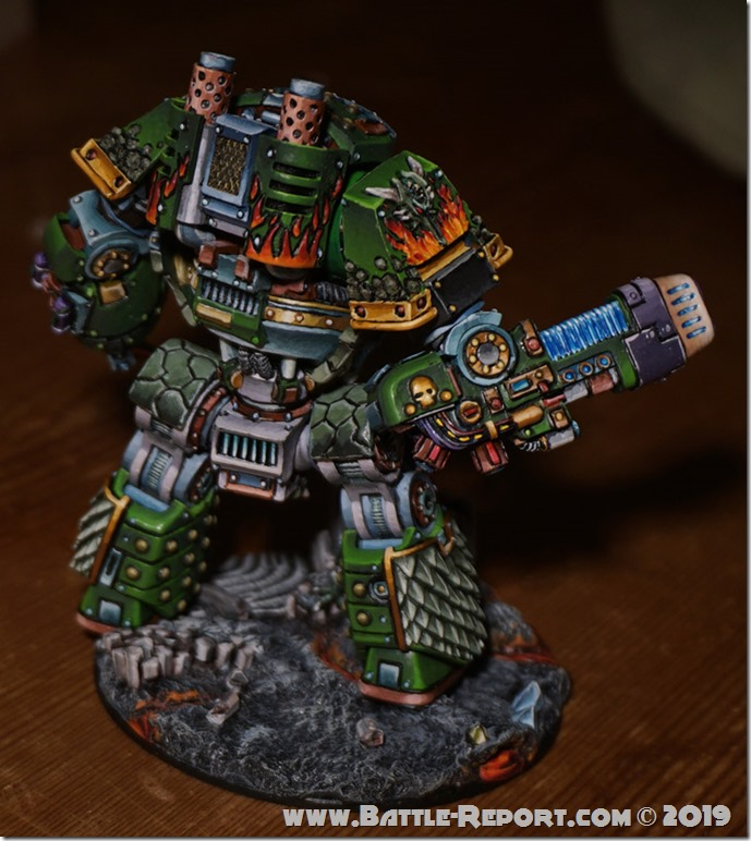 Salamanders Dreadnought Cassain Dracos  by Tomas (4)
