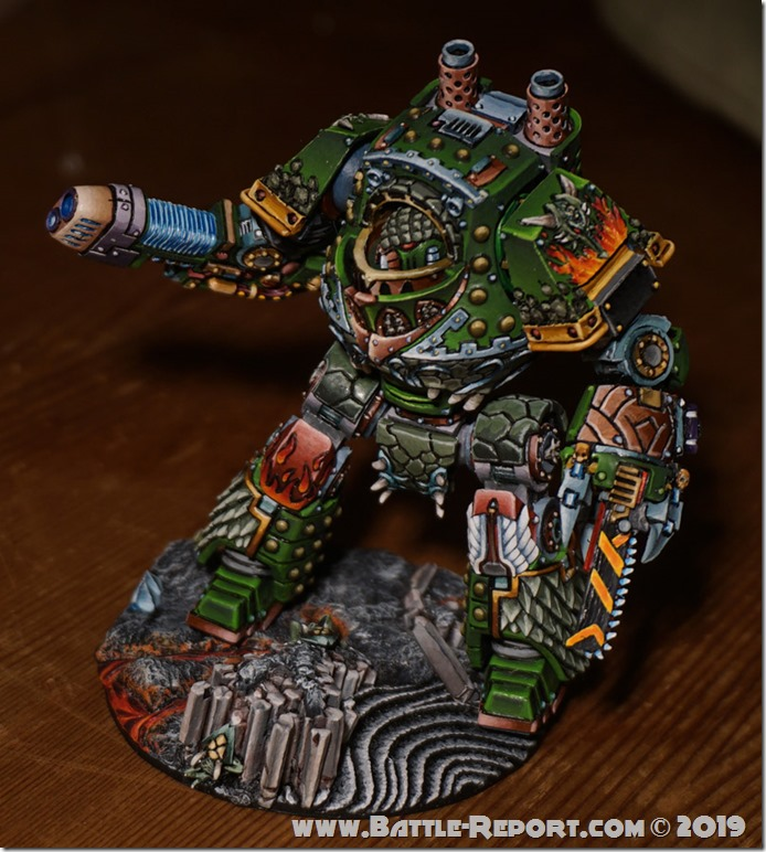 Salamanders Dreadnought Cassain Dracos  by Tomas (5)