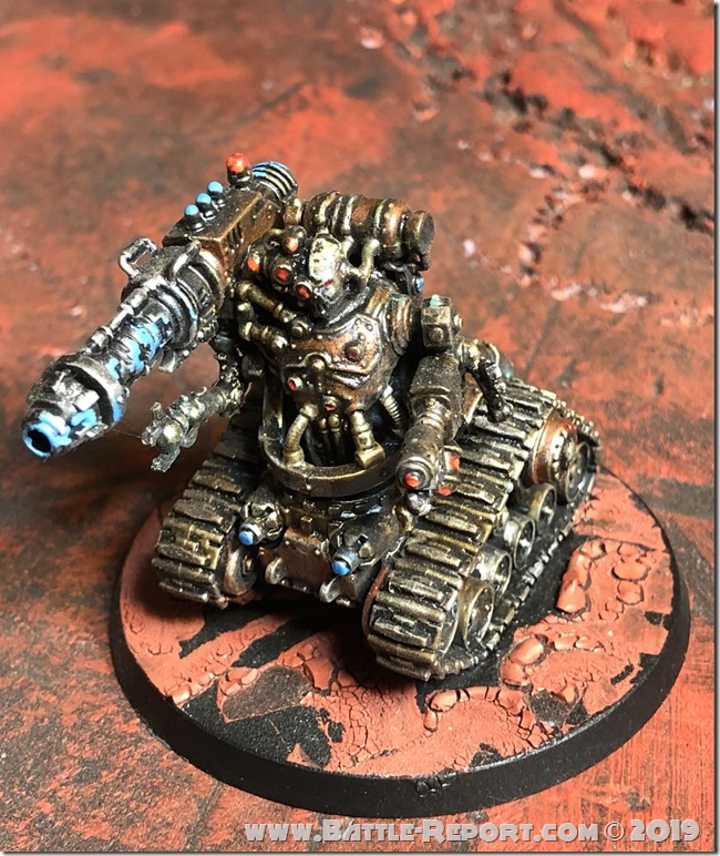 Adeptus Mechanicus Kataphron Destroyer by Nyghoma