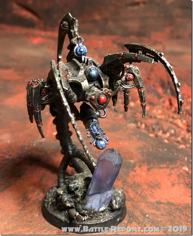 Canoptek Wraith by Nyghoma (1)