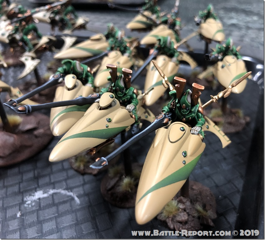 Eldar Shining Spears by Bill (10)
