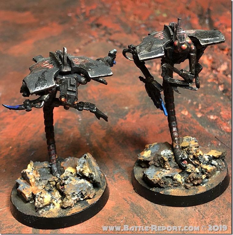 Necron Canoptek Wraiths by Nyghoma (2)
