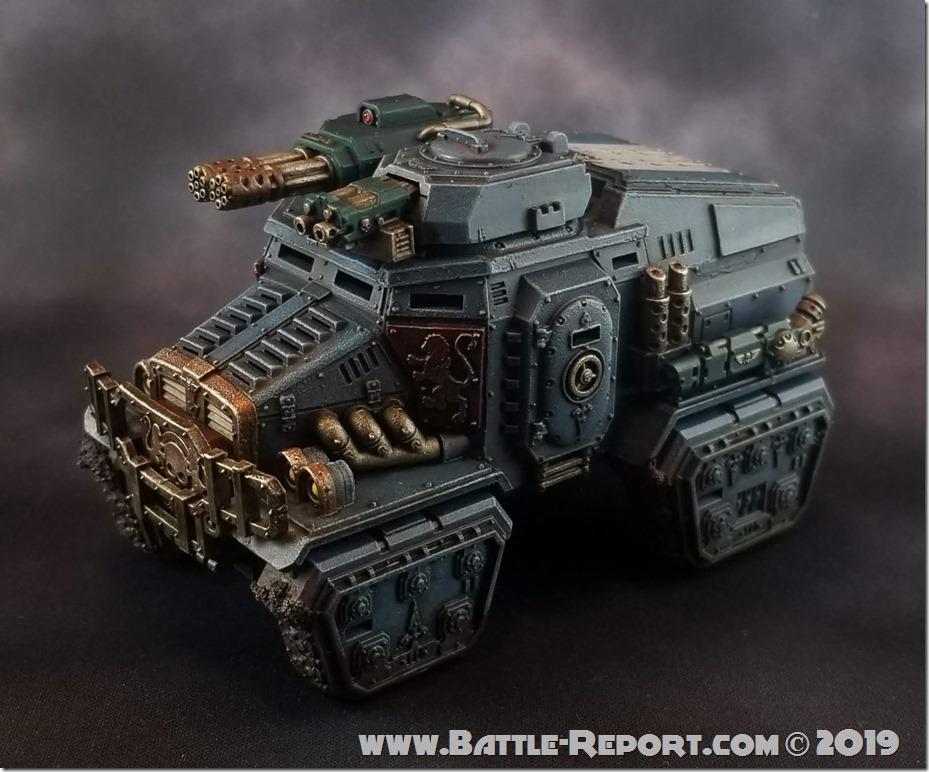 Militarum Tempestus Taurox Prime by Joey K (1)