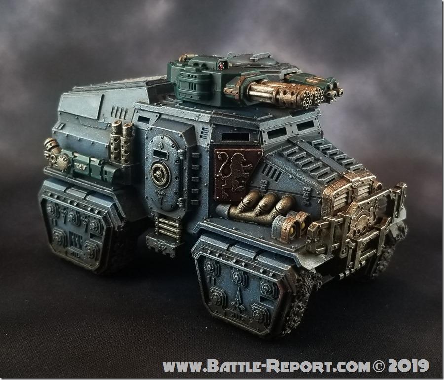 Militarum Tempestus Taurox Prime by Joey K