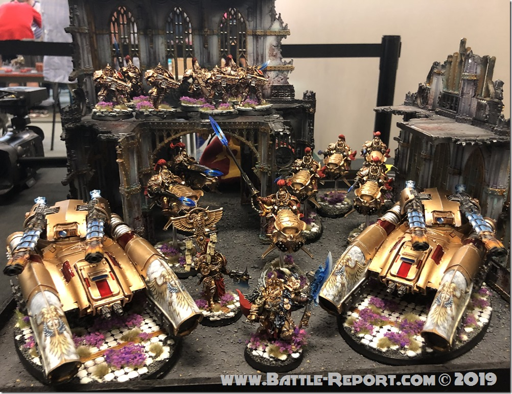Armies of the 2019 BFS X GT – Adeptus Custodes by Greg Wells (Gilded Light Studios)