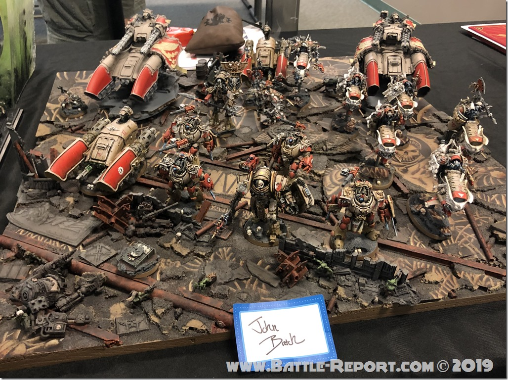 Armies of the 2019 BFS X GT - Crusaders of the Machine-God by John Batch (1)