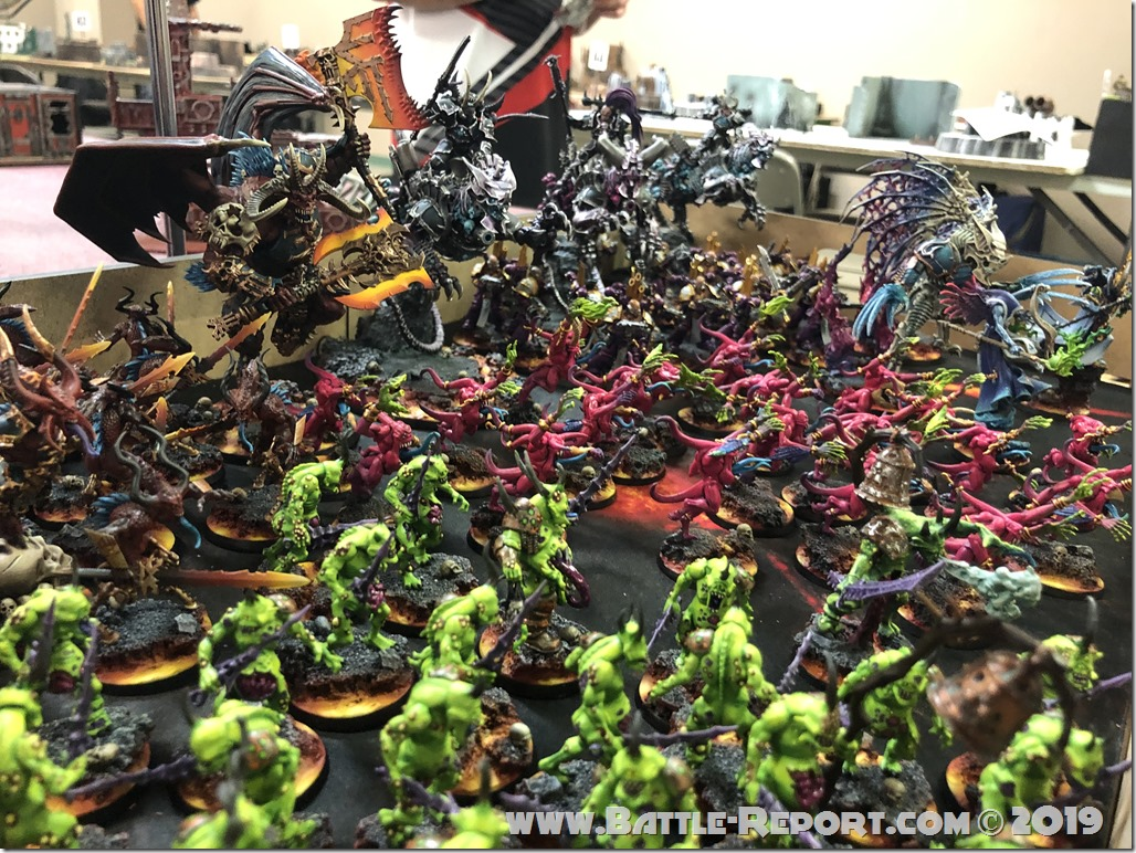 Chaos Daemons and Thousand Sons by Matt Aaron (9)