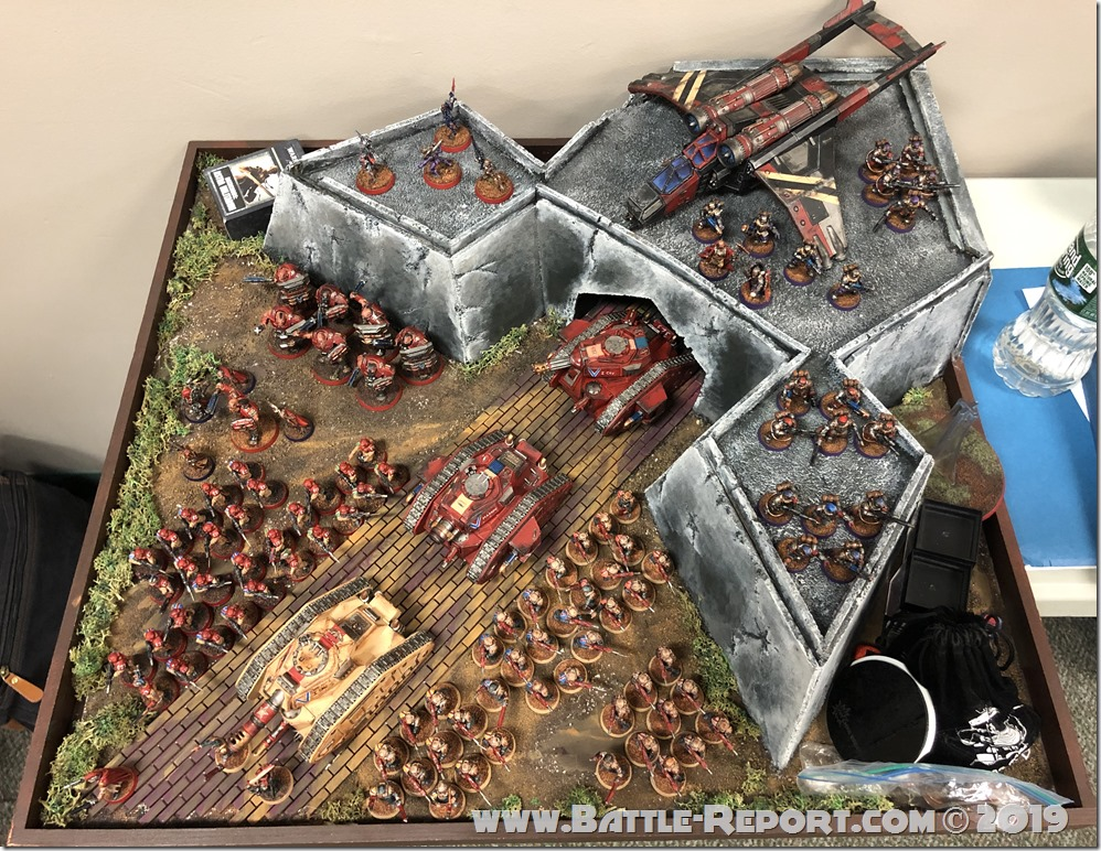 Armies of the 2019 BFS X GT – Imperial Guard by Daniel Wohlmuth