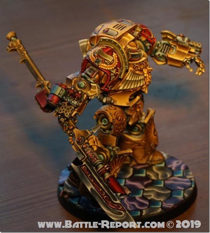 Legio Custodes Contemptor-Achillus Dreadnought by Tomas (3)