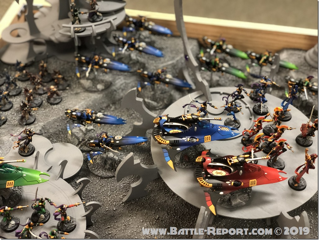 Armies of the 2019 BFS X GT – Aeldari