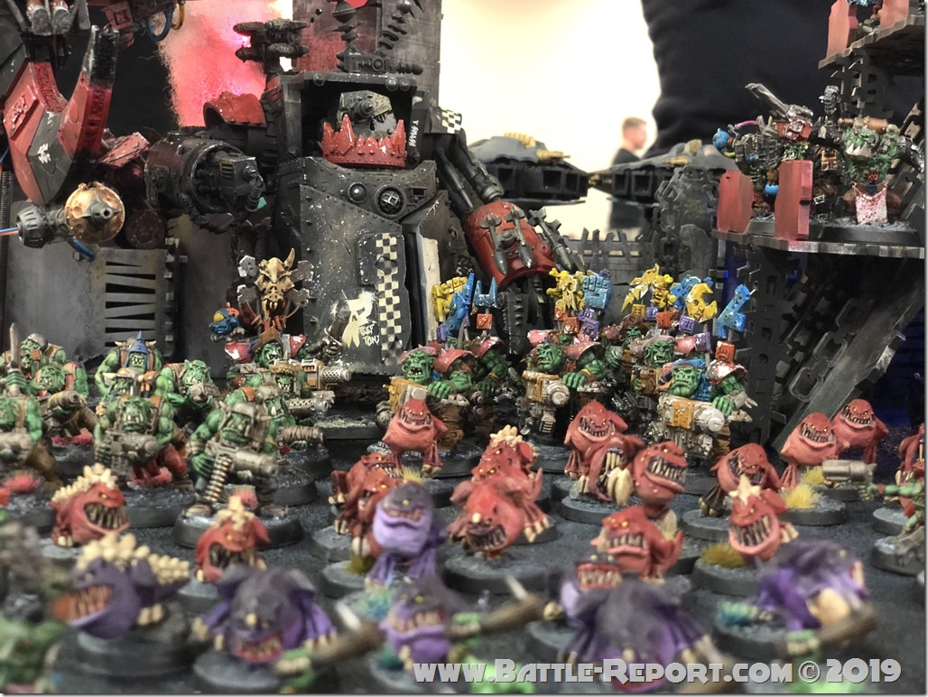 Armies of the 2019 BFS X GT – Orks