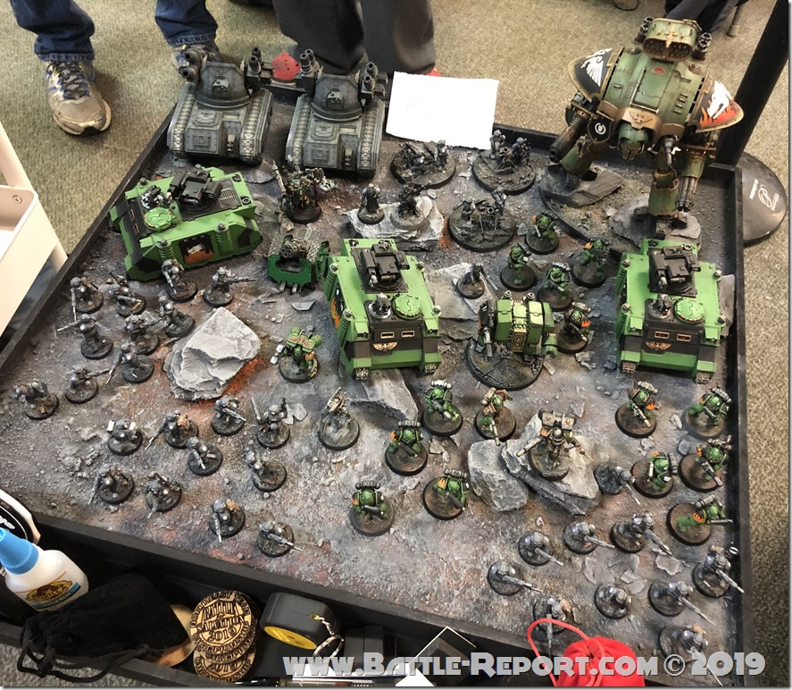Armies of the 2019 BFS X GT – Salamanders