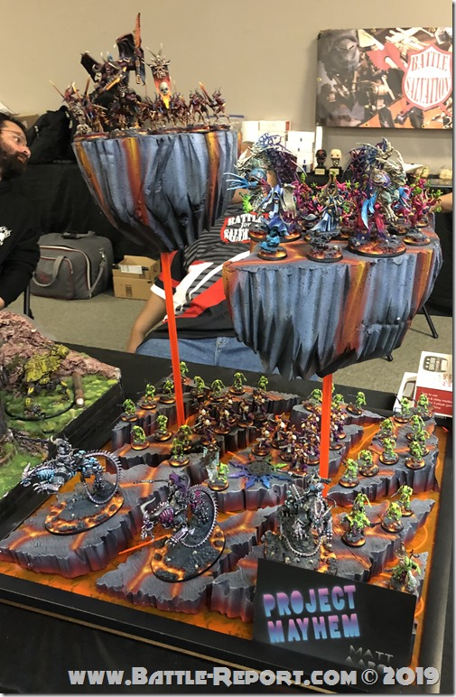 Project Mayhem: Chaos Daemons, Flawless Host and Thousand Sons by Matt Aaron