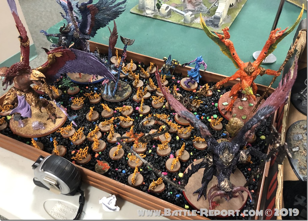 Armies of the 2019 BFS X GT – Tzeentch Daemons