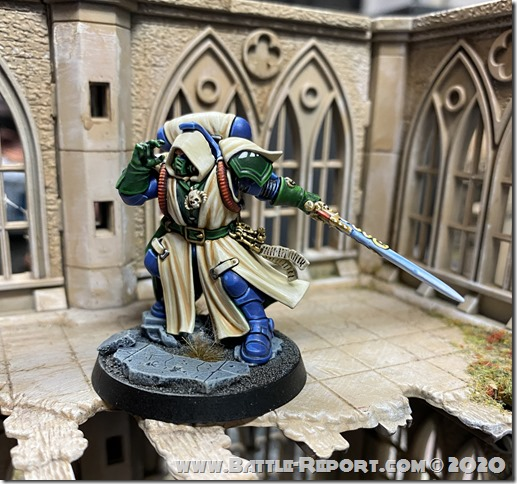 Iron Hands Primaris Librarian in Phobos Armour by Andrew Zoitas (1)