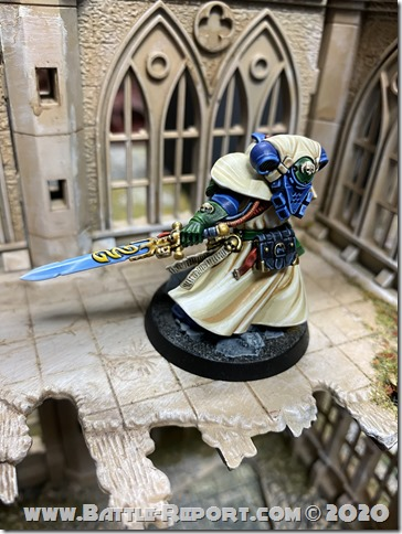 Iron Hands Primaris Librarian in Phobos Armour by Andrew Zoitas (6)