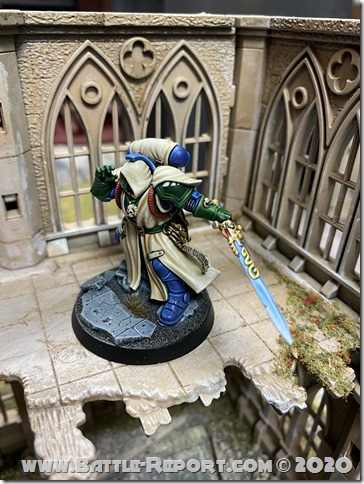 Iron Hands Primaris Librarian in Phobos Armour by Andrew Zoitas (8)